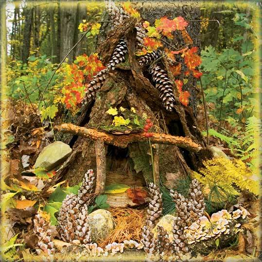 How To Make A Fairy House The Image Kid