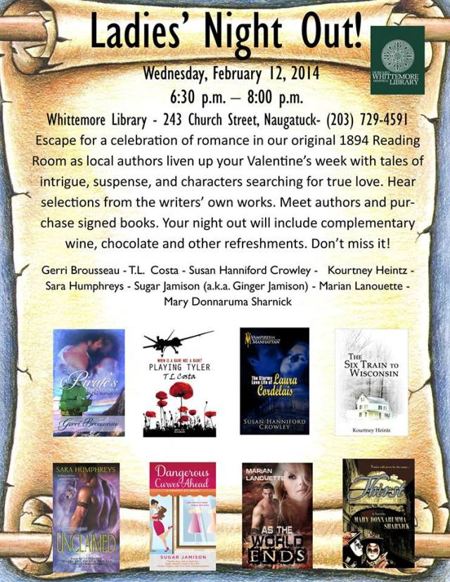 Feb 12 Booksigning