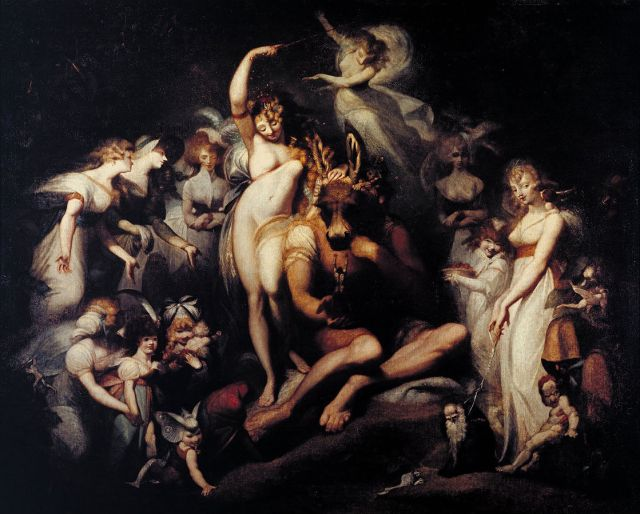 Titania and Bottom - Henry Fuseli [Public domain], via Wikimedia Commons