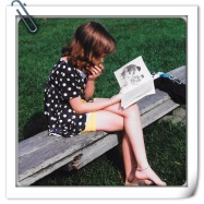 Erika Reading as Kid
