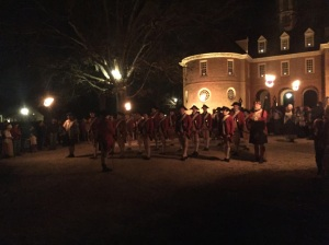 Fife and drum corps in front of the Capitol.
