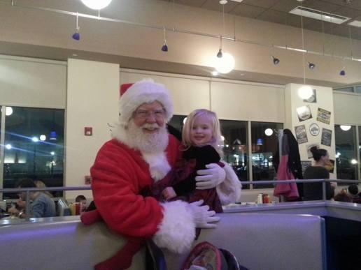 Santa and Penny