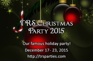 TRS Christmas Party 2015