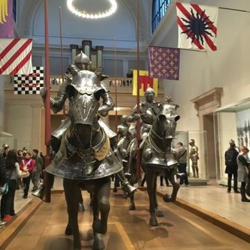 Knights in Met