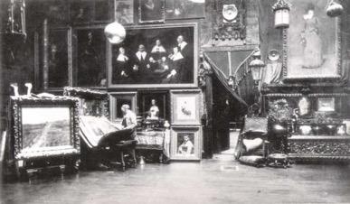 Bierstadts studio 2