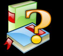 book_ question mark