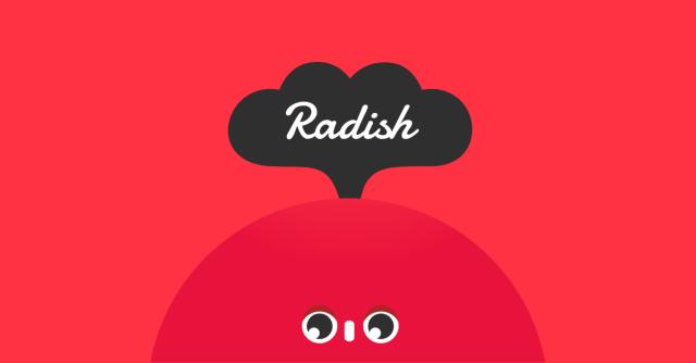Radish Banner